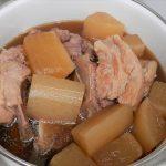 シャトルシェフでスペアリブ大根~上品なラーメンみたいな美味しいスープができた