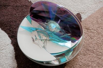 CD-Rとか割ったやつ