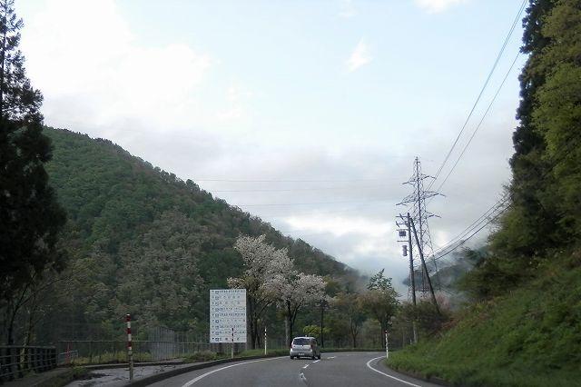 五箇山インター~菅沼間