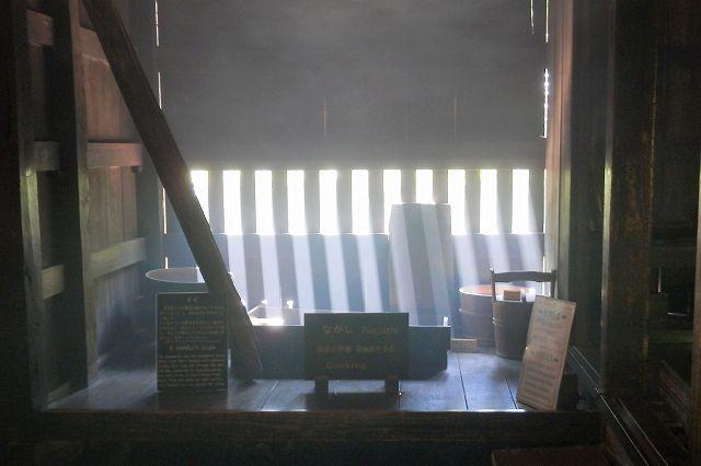 囲炉裏焚き2