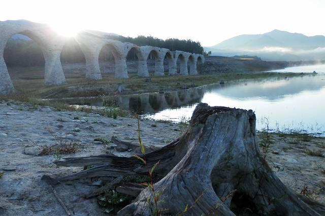 タウシュベツ橋脚4