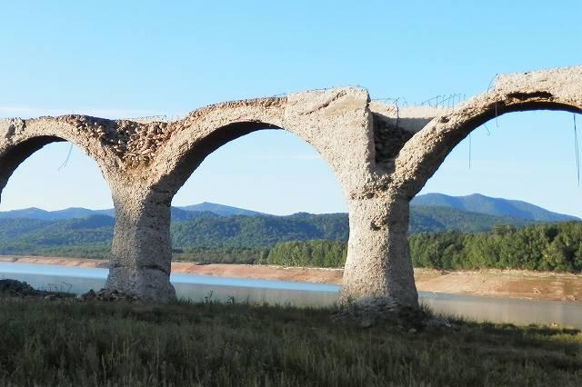 タウシュベツ橋脚7