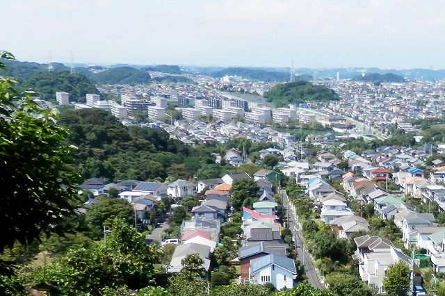 円海山から上郷・拡大
