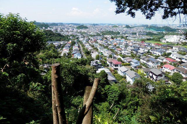 円海山から上郷