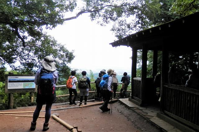 稲荷山コース山頂