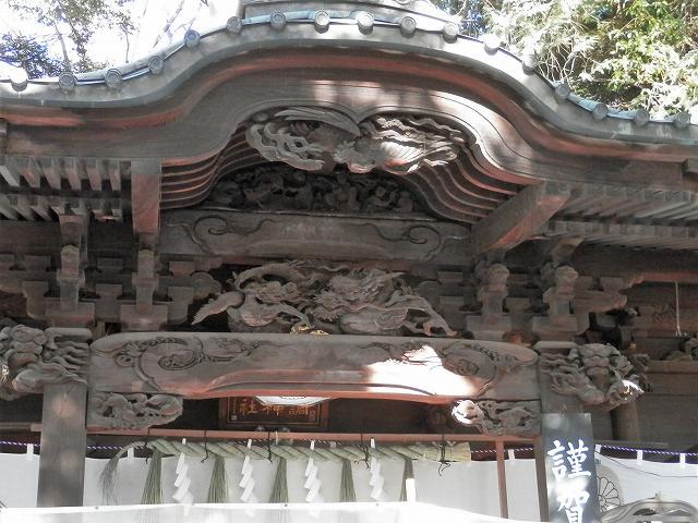 本殿の欄間