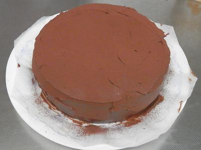 チョコケーキ全体