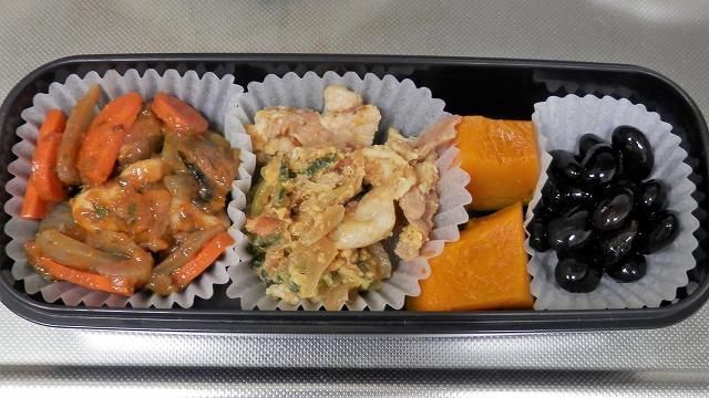 鶏肉のケチャップ炒め弁当2