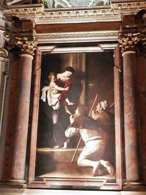 カラヴァッジョの祭壇画