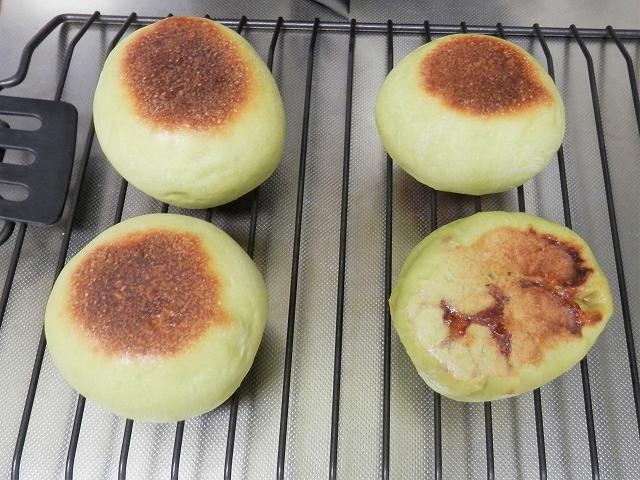 青りんごパン完成