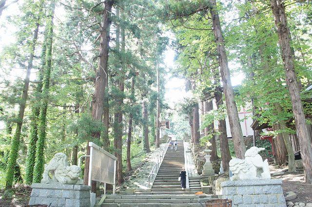 熊野大社の大階段