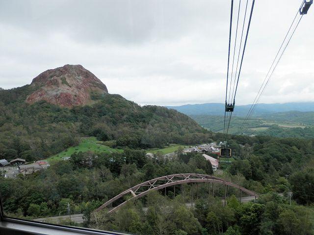 有珠山ロープウェイから昭和新山
