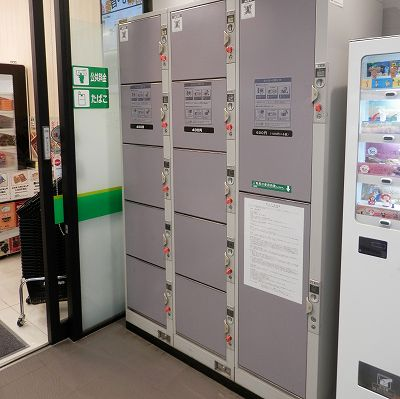 山形新幹線赤湯駅のコインロッカー