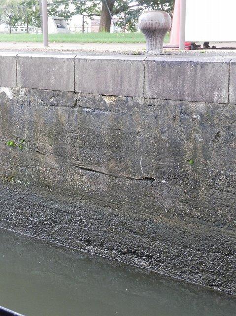 中島閘門排水中1