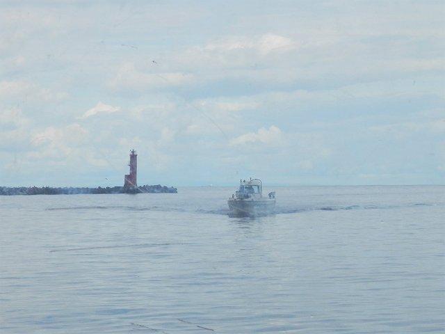 富山港の灯台