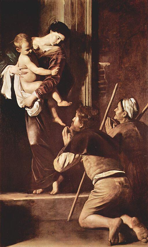 ロレートの聖母-カラヴァッジョ