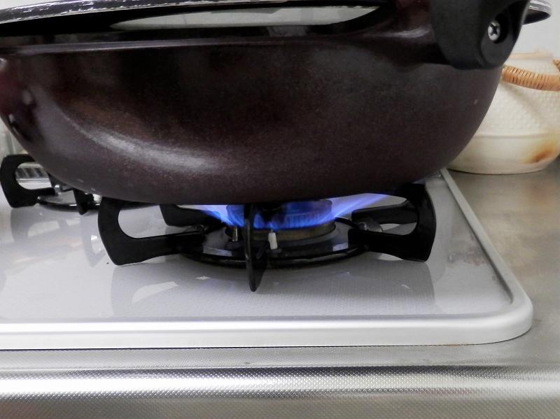 炊き始めの火加減