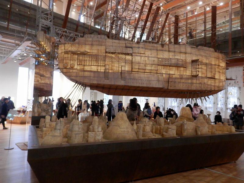 ジブリの大博覧会模型展示