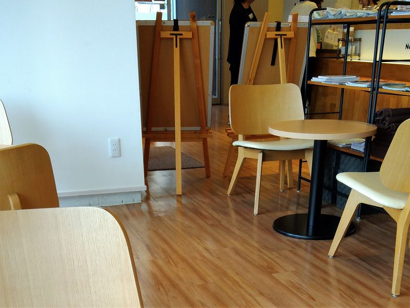 ねまるカフェ内部