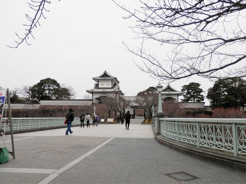 金沢城の城門