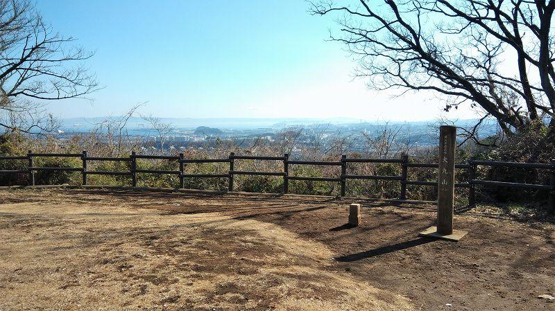 大丸山山頂からの眺め(円海山)