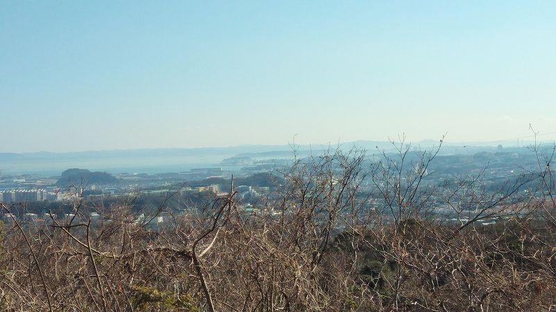 大丸山山頂からの眺め2(円海山)